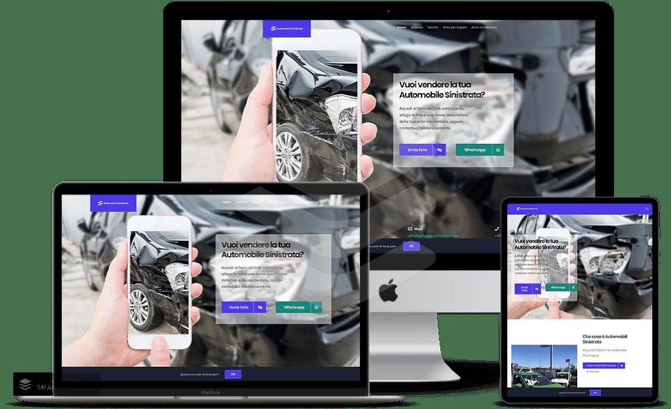 Realizzazione Siti Web Auto Cagliari