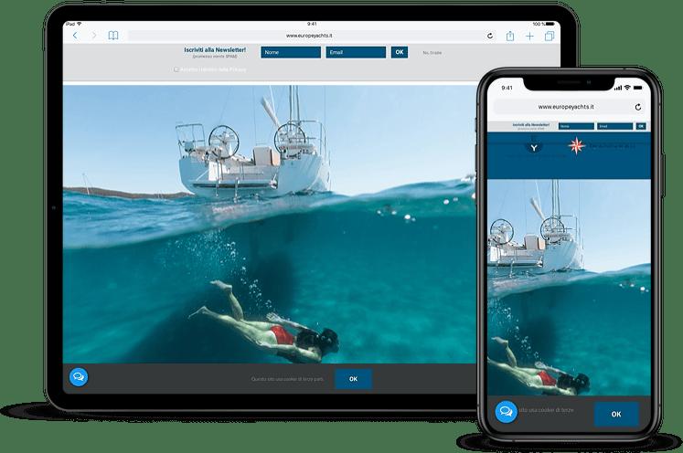 Realizzazione Siti Web Nautica