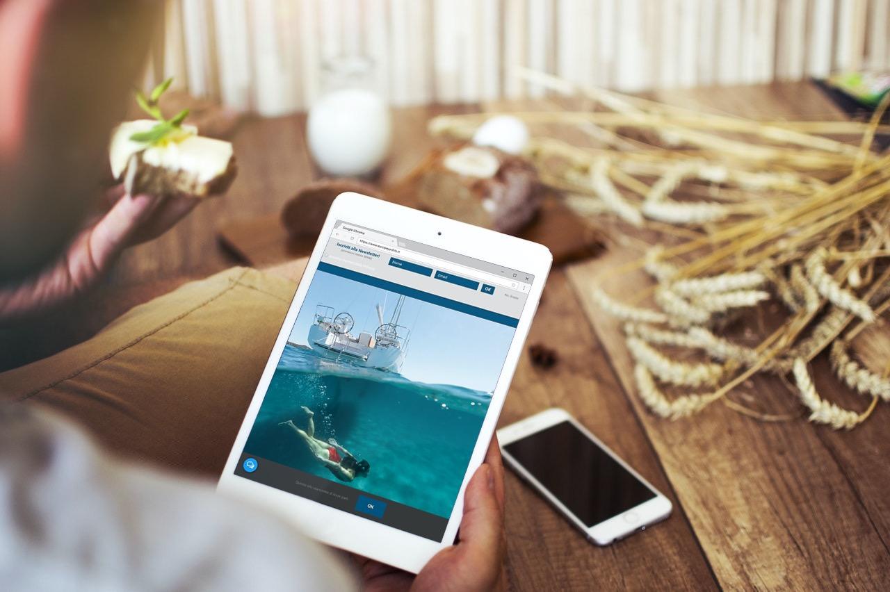 Strategia Web Marketing Nautica